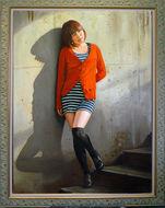 第58回全日肖展 2011年 奨励賞  「希望の光」  油彩     F80号