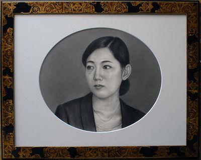 第63回全日肖展 小作品の部  東美賞  「Tさん」