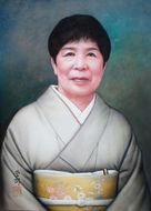 アクリル画 T様の肖像2