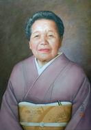 アクリル肖像画A様2