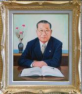 北関東綜合警備保障株式会社創業者 青木忠三氏の肖像
