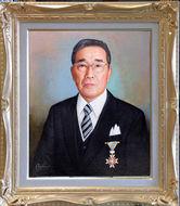 叙勲記念「I氏の肖像」