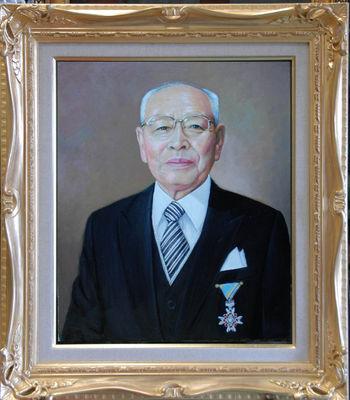 叙勲記念「S氏の肖像」