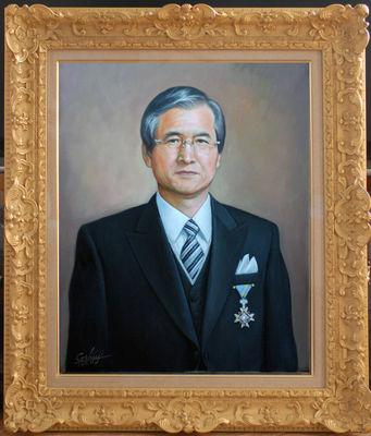 叙勲記念「N氏の肖像」