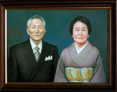T夫妻の肖像