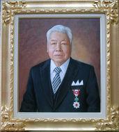 H氏の肖像 F10号(530mm×455mm)