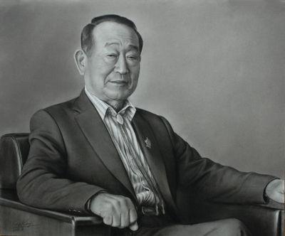 第65回記念全日肖展 小作品の部 銅賞「A氏の肖像」