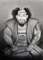 石黒太郎光廣の肖像